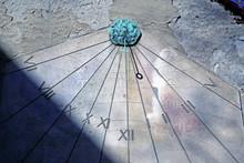 Sundial On Wall