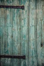 Full Frame Shot Of Old Weathered Door