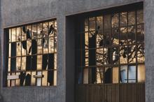 Broken Windows Of Building
