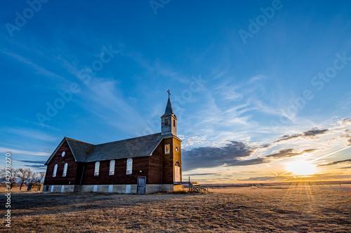 Photo Sunset over St