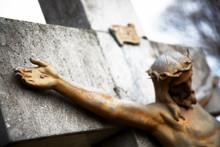 Crucifixion Of Jesus Christ Statue