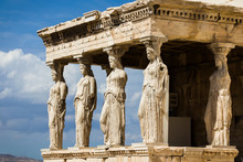 Low Angle View Of Erechtheum Against Sky