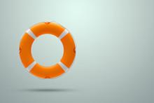 Lifebuoy On A Light Background...