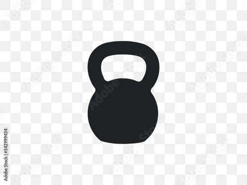Tablou Canvas Kettlebell, sports, weight icon