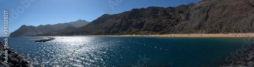 Photo grosser Sandstrand im Norden von Teneriffa