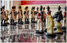 Surface Level Of Napoleonic Chess Set