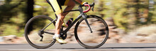 Professional Male Cyclist In R...