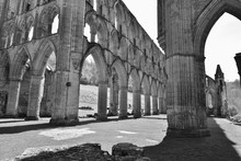 Historic Ruins Of Rievaulx Abbey