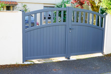 Modern Grey Gate Aluminum Home...