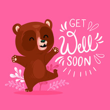 Get Well Soon Sticker Design, ...