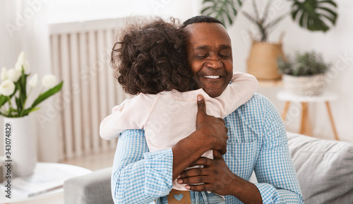 Valokuvatapetti Grandparent grandchild relationship