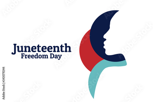 Juneteenth, Freedom Day Fototapet