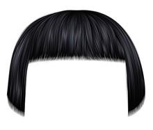 Trendy Hairs Brunette Black Co...