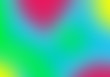 canvas print picture abstract rainbow background