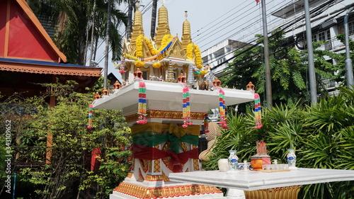 Photo タイ バンコクの祭壇