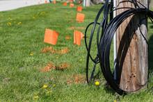 Fiber Optic Cable, Orange Mark...