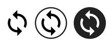 Sync Icon . Web Icon Set .vect...