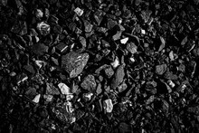 Abstract, Natural Black Coal. ...