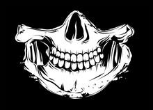 Totenkopf Skull Kiefergelenk