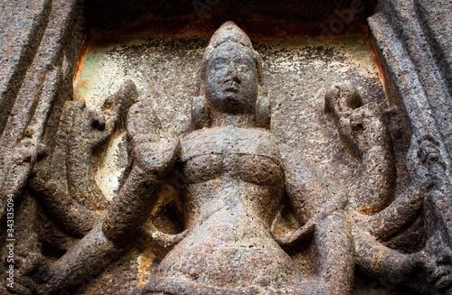 Fototapeta Mahabalipuram statues