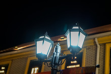 European Style Street Lamp At ...