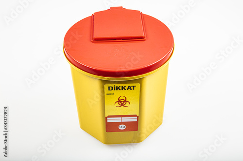 Fényképezés Medical waste bin 1,3 liter