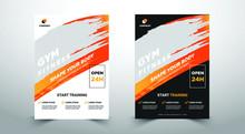 GYM / Fitness Flyer Template W...