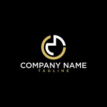 Initial Letter Logo Cm, Mc, M Inside C Rounded Lowercase Gold Monogram