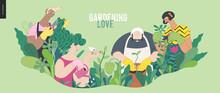 Gardening People, Spring - Mod...