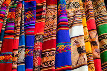 Tejido Peruano Colorido
