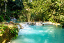 Kunag Si Waterfalls In Luang P...
