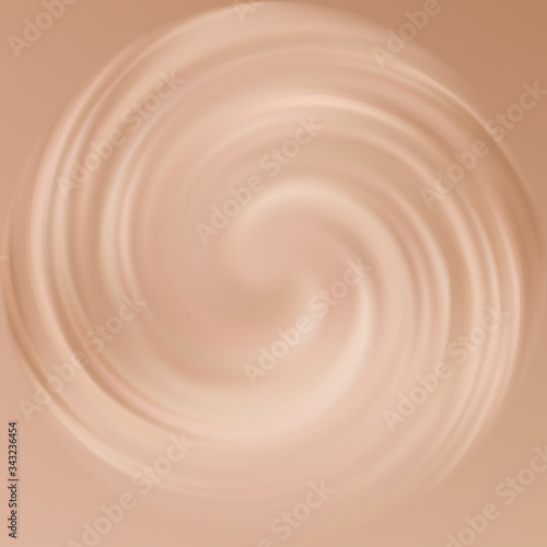 Valokuva Vector abstract background color of cappuccino
