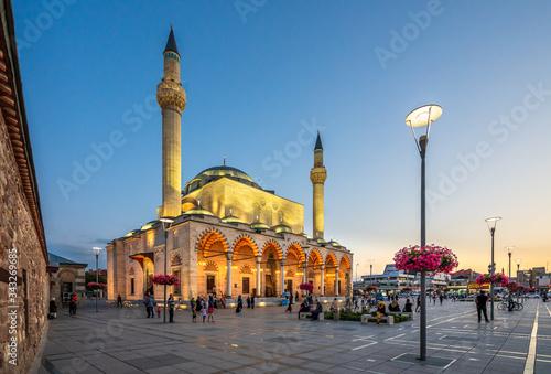 Foto selimiye mosque konya turkey