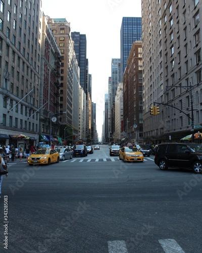 Fototapeta View Of City Street obraz na płótnie