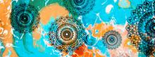 Mandala Colorful Vintage Art, ...