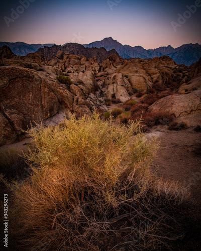 фотография sunrise alabama hills alpenglow