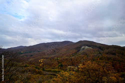 Fototapety, obrazy: Scenic View Of Mountains Against Sky