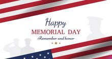 Happy Memorial Day. Greeting C...