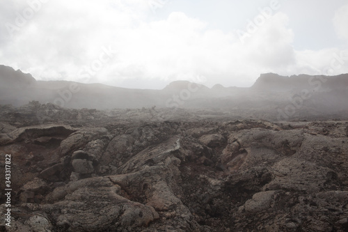 Fotografia Weathered Rocky Surface