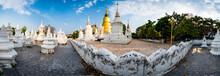 Panorama Of Wat Suan Dok Or Bu...