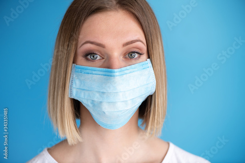 Photographie Nurse or doctor with face mask