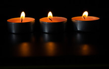 Composition Of Three Candles O...