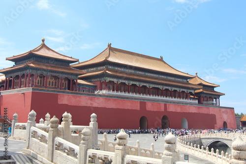 forbidden city beijing china Lerretsbilde