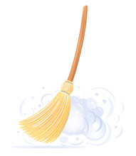 One Big Yellow Broom Sweep Flo...