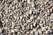 Construction stone crushed stone as abstract background.