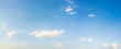 Leinwandbild Motiv Beautiful blue sky and clouds natural background.