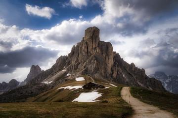 Passo de Giau, Dolomitas. Italia.