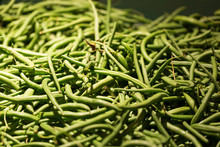 Fresh Green Beans At The Market