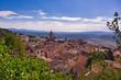 City panorama of Massa Marittima Tuscany Italy