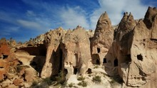 Ancient Cliff Dwellings At Cappadocia